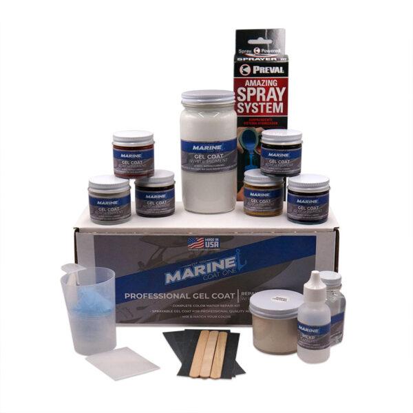 Marine Coat One Professional Gel Coat Repair Kit